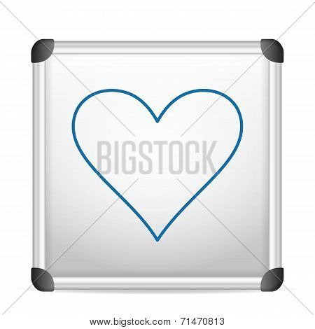 Whiteboard Heart