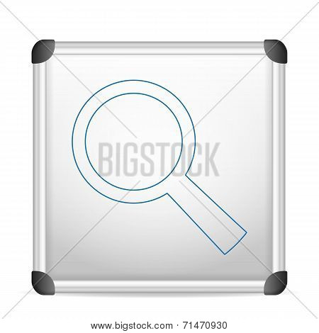 Whiteboard Magnifier