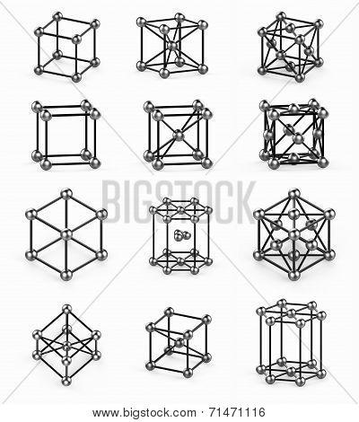 crystal lattice