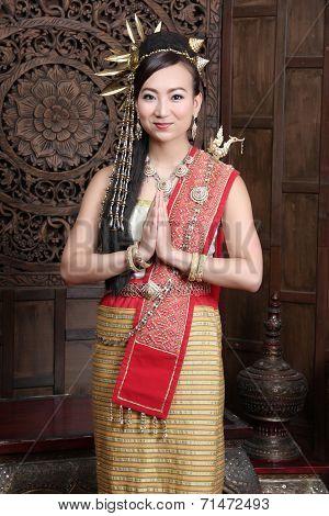 Women Dress In Northern Thailand.