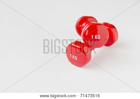 Red Dumbbell