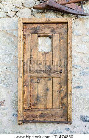 Old Hanging Door