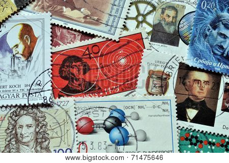 Science on stamps