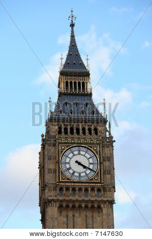 Clock Tower Of Big Ben