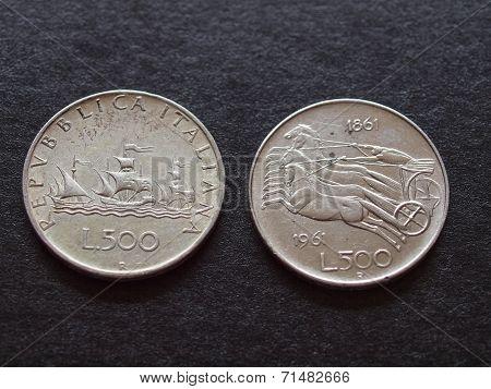 Italian Liras Silver Coins