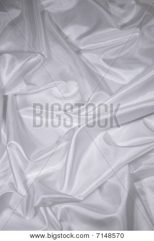 White Satin/Silk Fabric 2