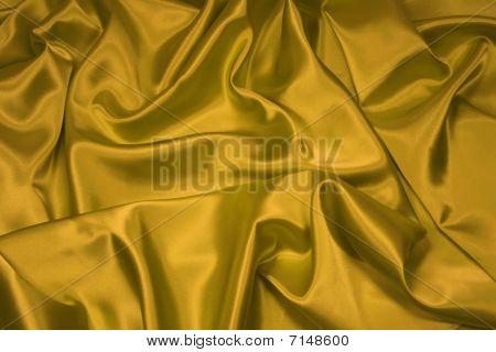 Gold Satin/Silk Fabric 1