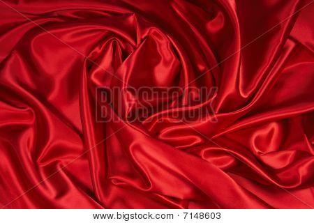 Red Satin/Silk Fabric 3