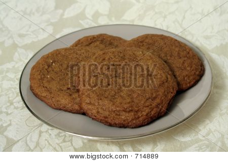 Gingersnap Plate