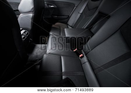 Luxury Rear Car Seats