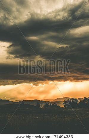 Stormy Front Range