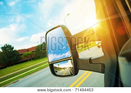 Cargo Van Driving Concept