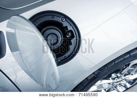 Car Fuel Inlet Closeup