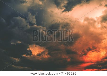 Dark Storm Cloud