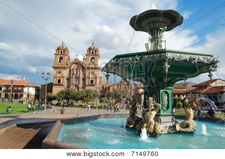 Cuzco Fountain