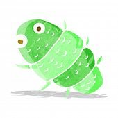 image of woodlouse  - cartoon bug - JPG