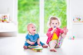 picture of daycare  - Two little children  - JPG