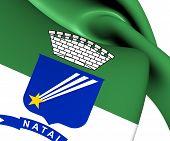 foto of natal  - 3D Flag of Natal - JPG