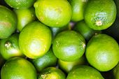 picture of lime  - Green Lime Fruits Closeup - JPG