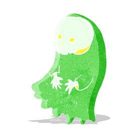 pic of ghoul  - cartoon spooky ghoul - JPG