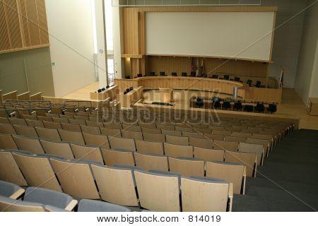 Sala de reuniões do Conselho de cidade