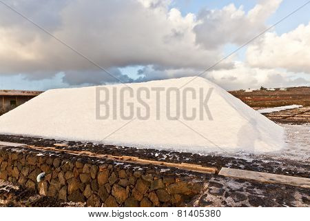 Salt Refinery, Saline From Janubio, Lanzarote