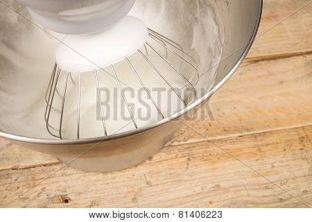 Whisking Egg Whites