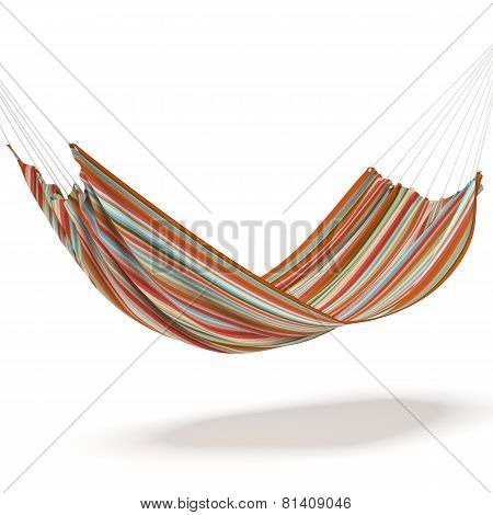 Colored hammock