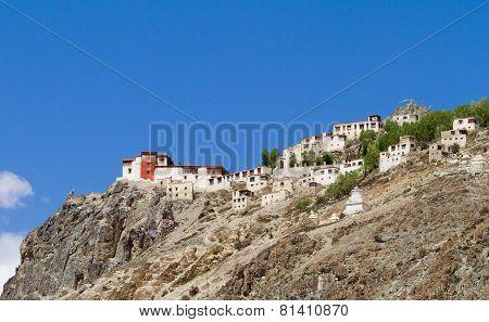 Bardan Monastery Panorama At Sunny Day