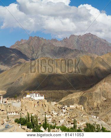 Lamayuru Monastery View At Himalayas