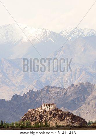 Stakna Monastery In Himalayas