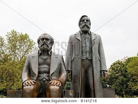 Marx Engels Forum In Berlin, Germany