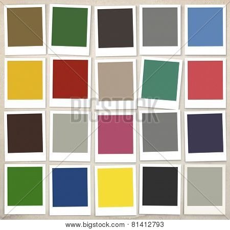 Color Swatches Colorful Palette Design Paint Concept