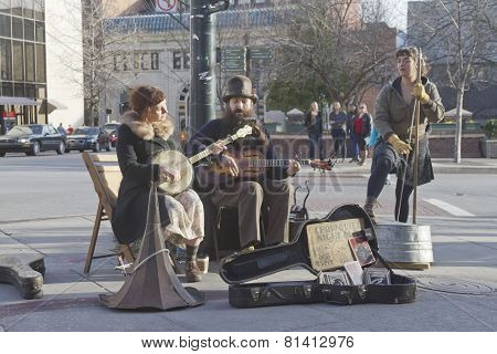 Asheville Downtown Street Music