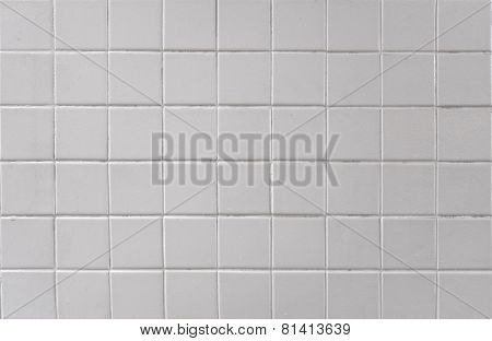 Mosaic Tiles Of Wall  For Background