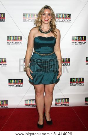 LOS ANGELES - JAN 17:  Kristin Coleman at the Hollywood Red Carpet School at Secret Rose Theater on January 17, 2015 in Studio City, CA