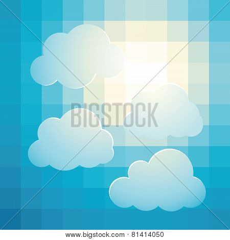 Cloudy Bright Sky