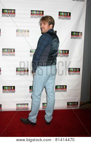 LOS ANGELES - JAN 17:  Spencer Evans at the Hollywood Red Carpet School at Secret Rose Theater on January 17, 2015 in Studio City, CA