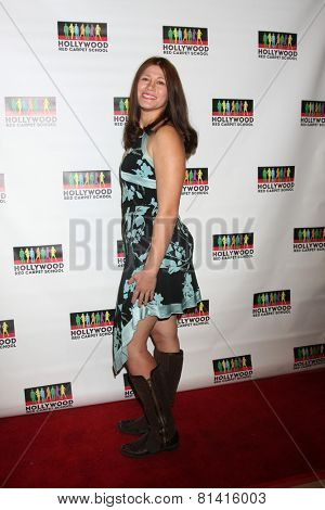 LOS ANGELES - JAN 17:  Carolin Von Petzholdt at the Hollywood Red Carpet School at Secret Rose Theater on January 17, 2015 in Studio City, CA