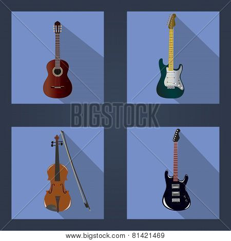 Guitars And Violins