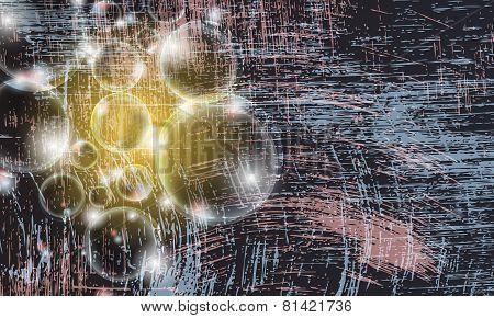 Transparent Magic Bubbles