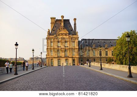 PARIS - SEP 07: street of Paris on September 07, 2014 in Paris, France. Paris, aka City of Love, is a popular travel destination and a major city in Europe
