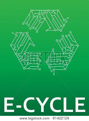 E-Cycle electronics recycling
