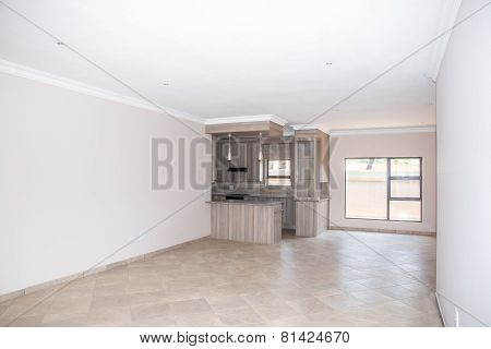 Living Room Of Vacant House