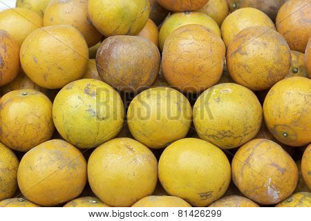 Ripe Orange Fruit