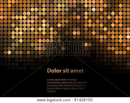 Shiny background with sequins