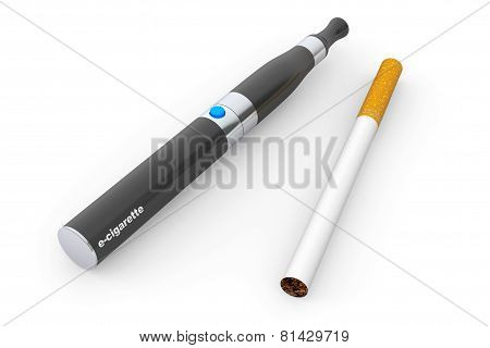 Big Electronic Cigarette