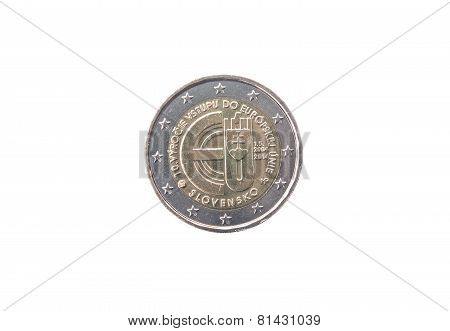 Commemorative Coin Of Slovakia