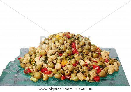 Salad of corn.
