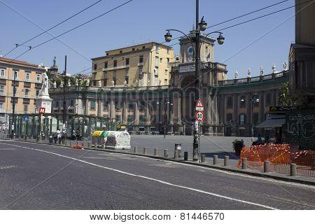 Piazza Dante,Naples